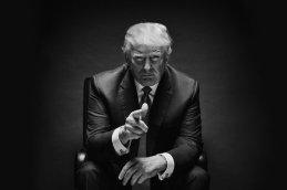 pionting trump